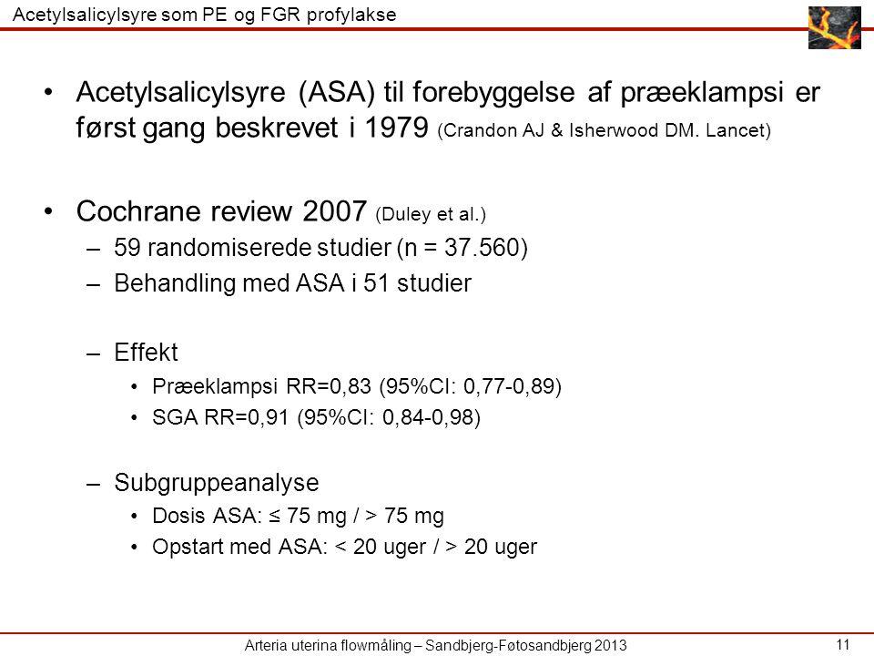 Cochrane review 2007 (Duley et al.)