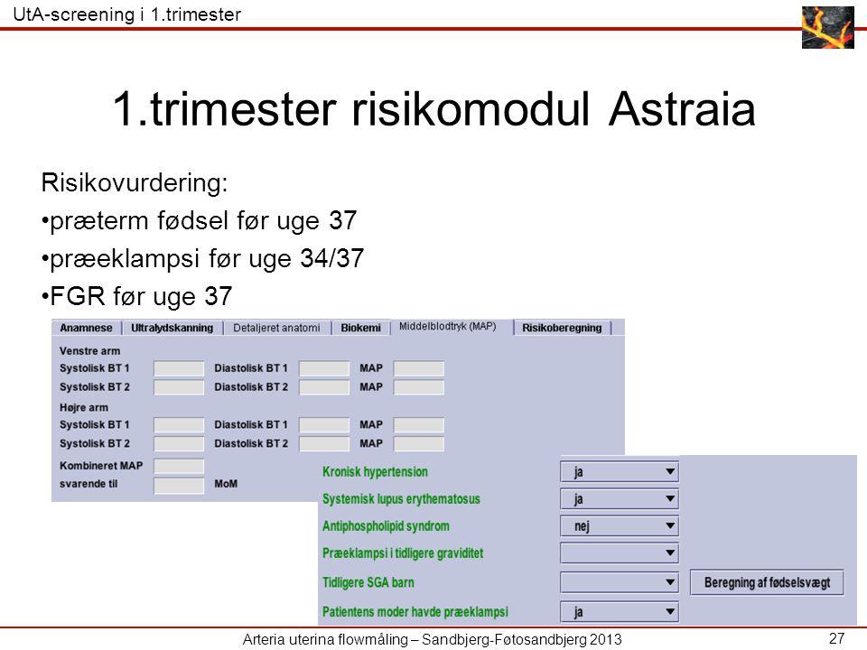 1.trimester risikomodul Astraia