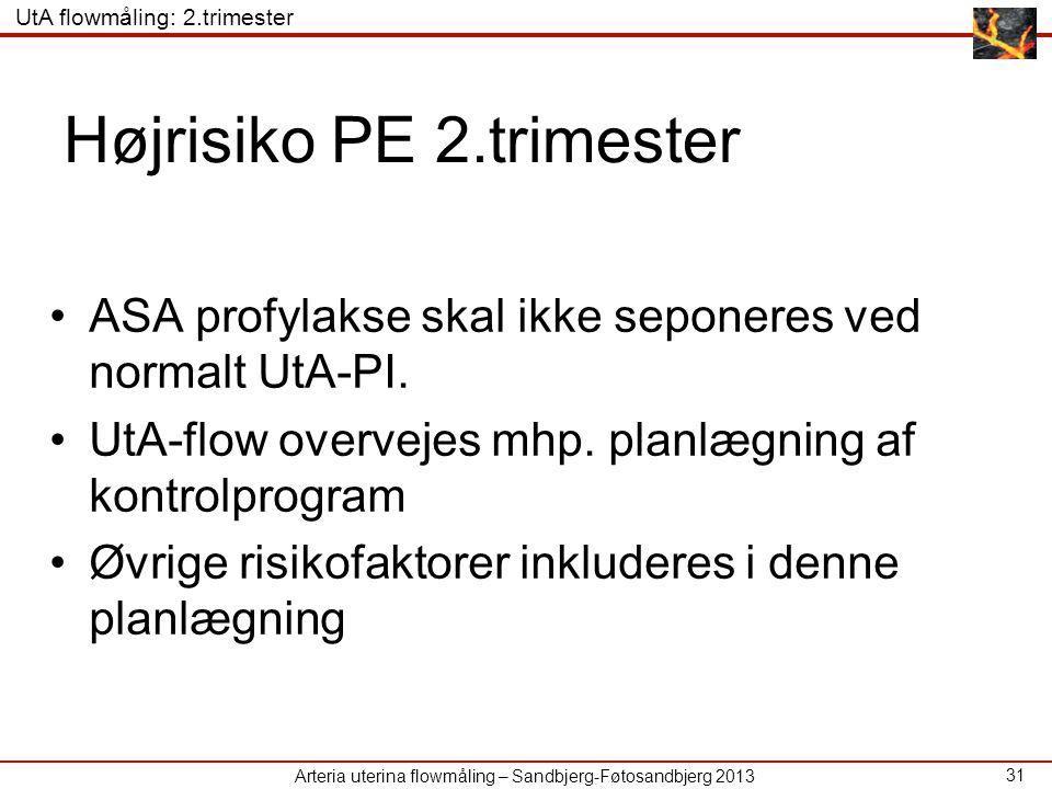 Højrisiko PE 2.trimester