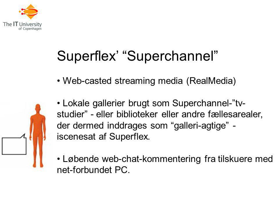 Superflex' Superchannel