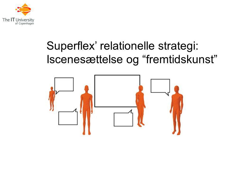Superflex' relationelle strategi: