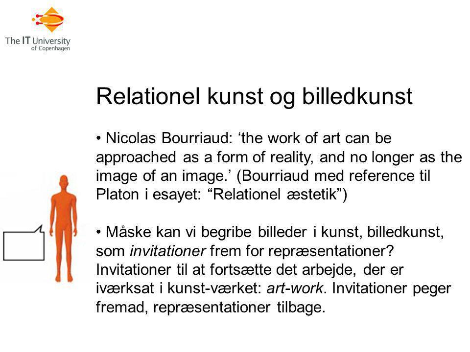 Relationel kunst og billedkunst