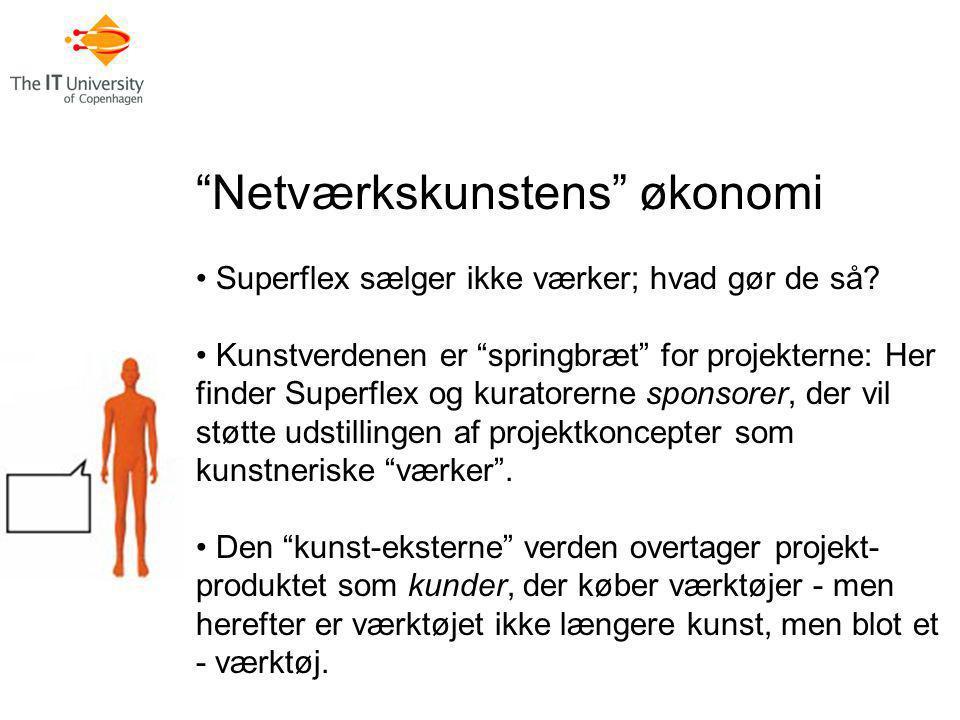 Netværkskunstens økonomi