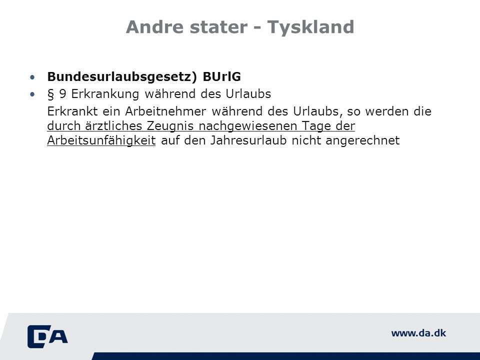 Andre stater - Tyskland