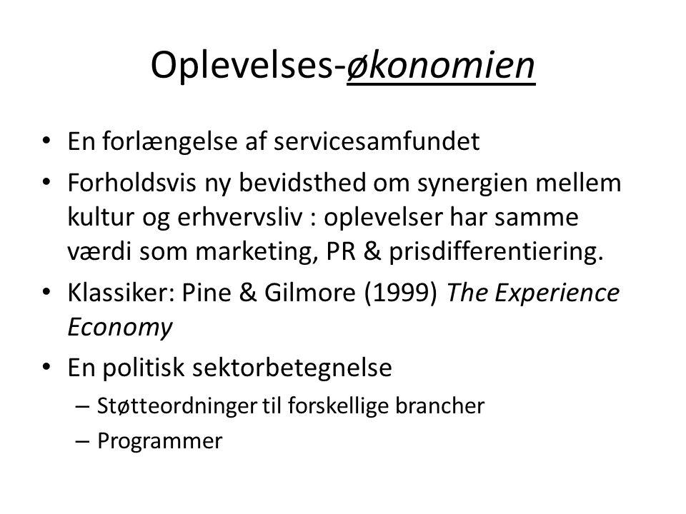 Oplevelses-økonomien