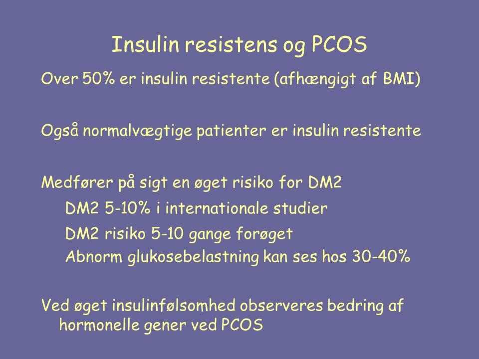 Insulin resistens og PCOS