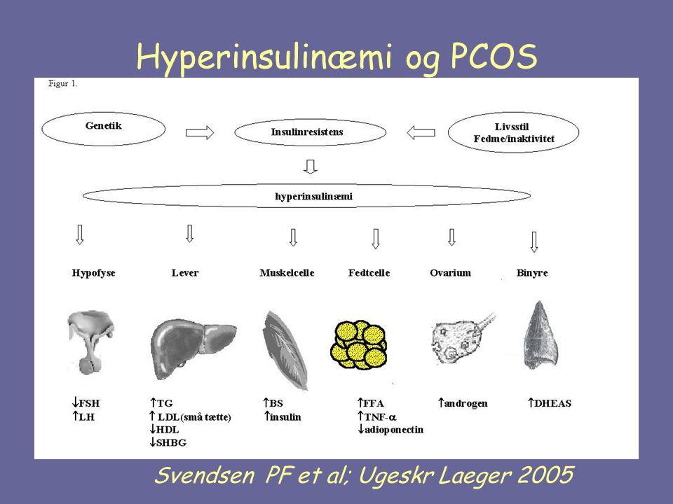 Hyperinsulinæmi og PCOS