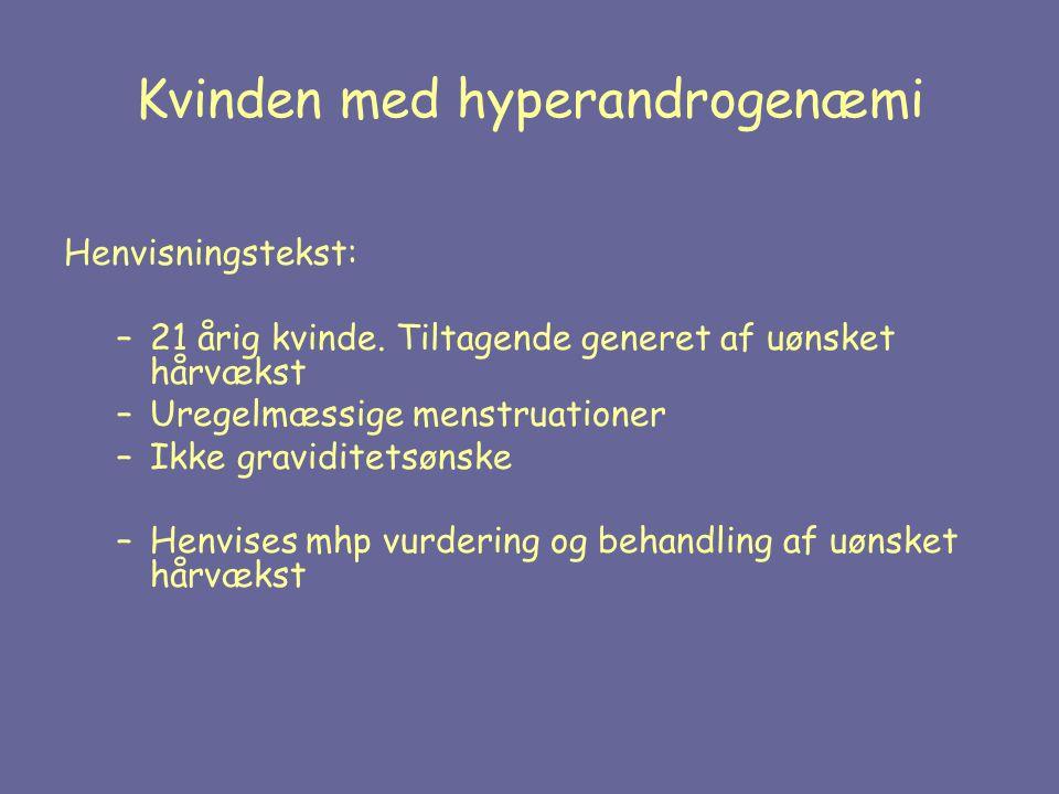 Kvinden med hyperandrogenæmi