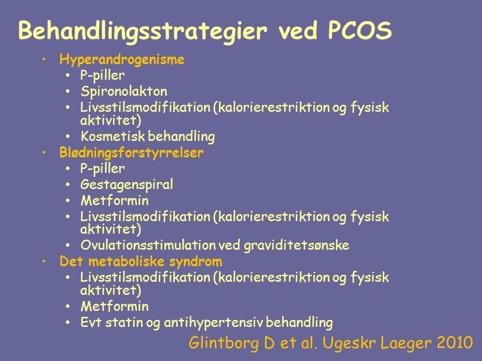 Behandlingsstrategier ved PCOS