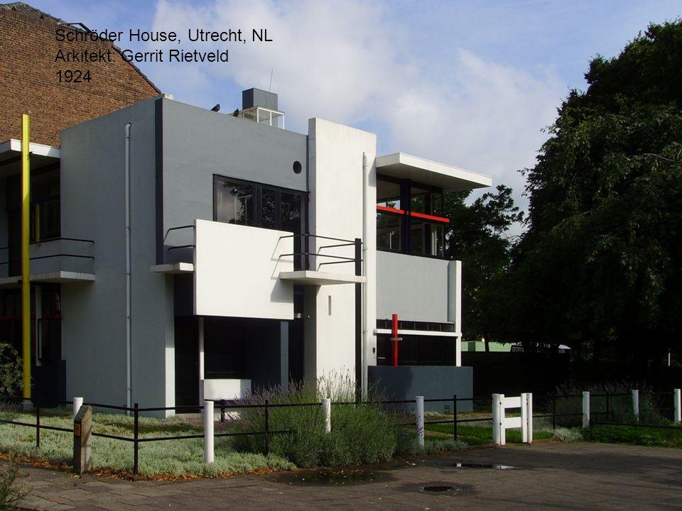 Schröder House, Utrecht, NL