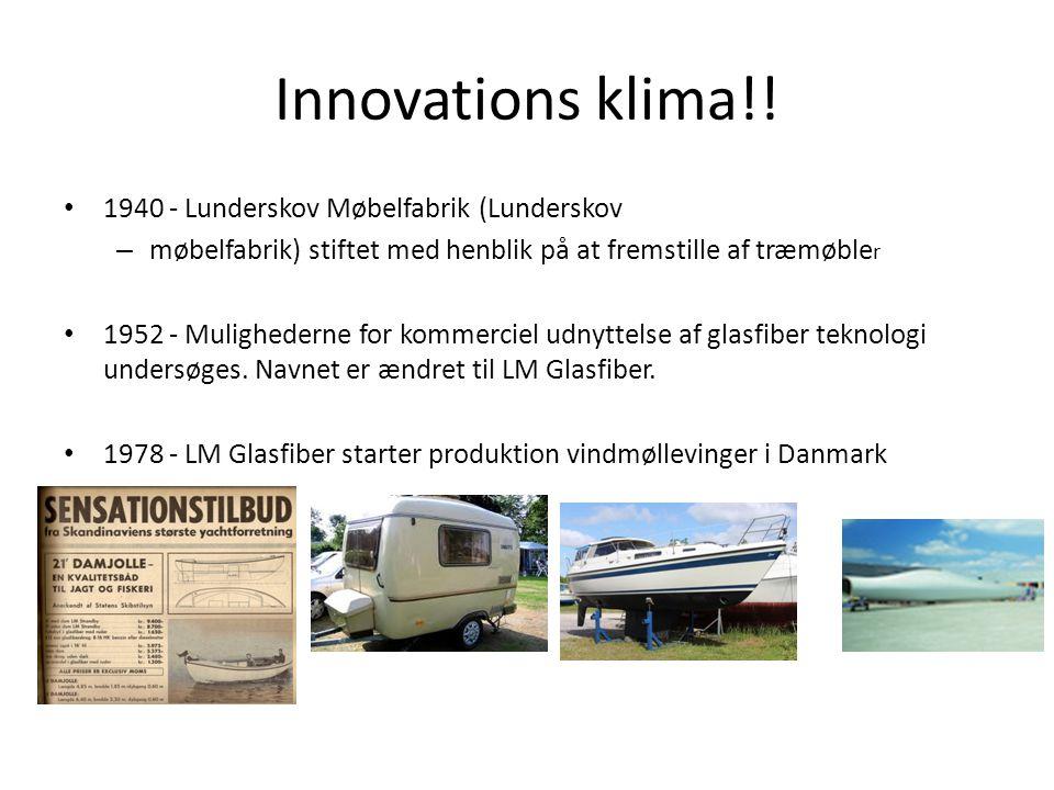 Innovations klima!! 1940 - Lunderskov Møbelfabrik (Lunderskov