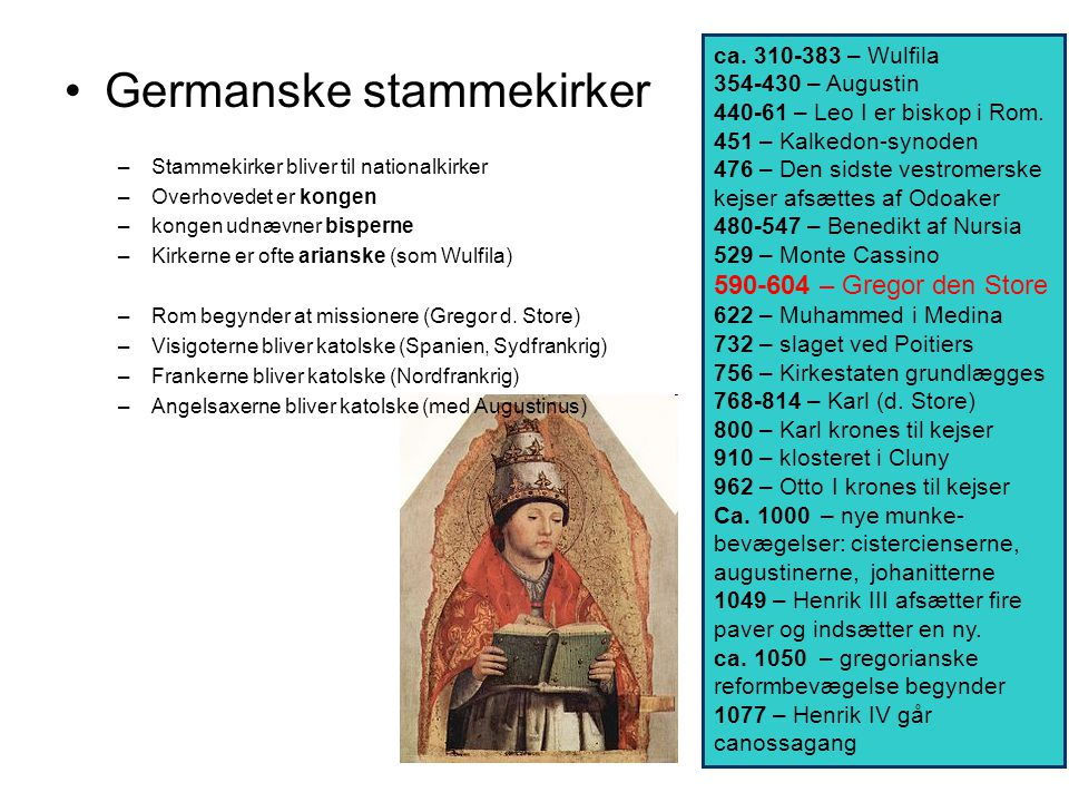 Germanske stammekirker
