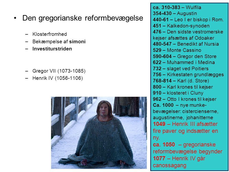 Den gregorianske reformbevægelse