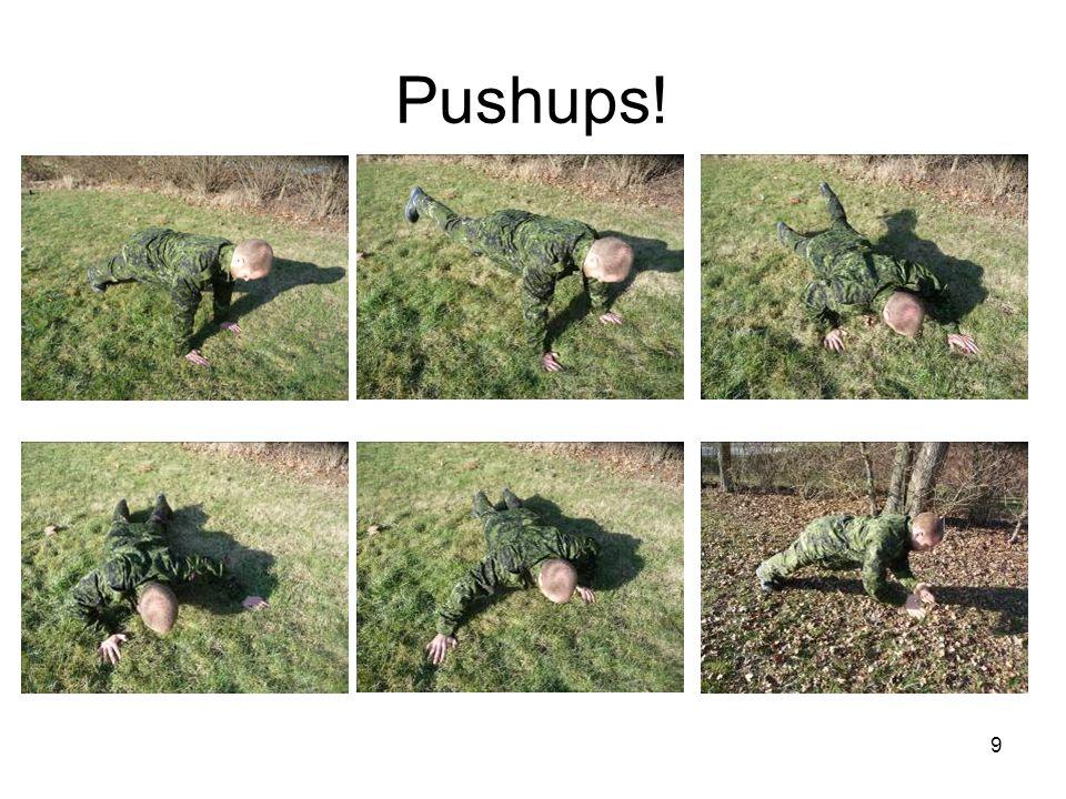 Pushups!