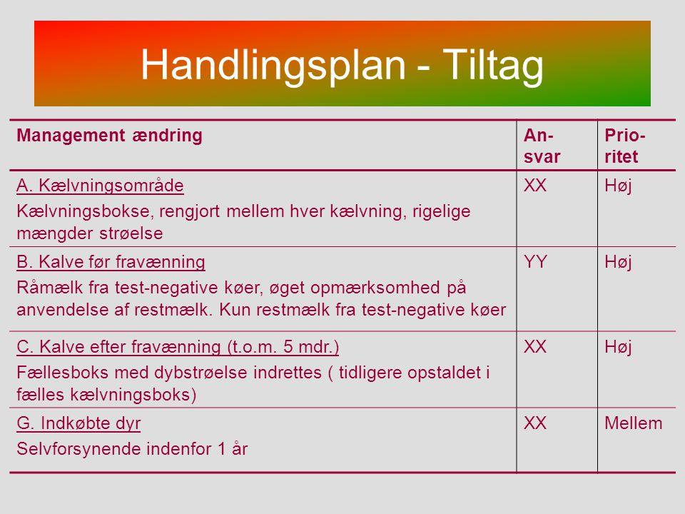 Handlingsplan - Tiltag