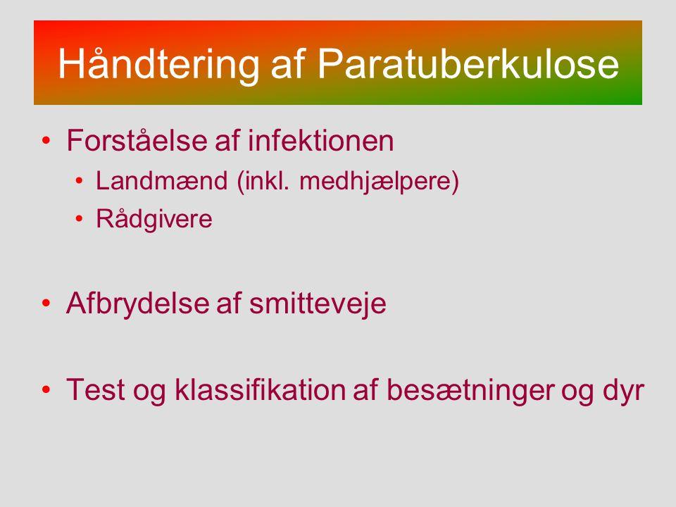 Håndtering af Paratuberkulose