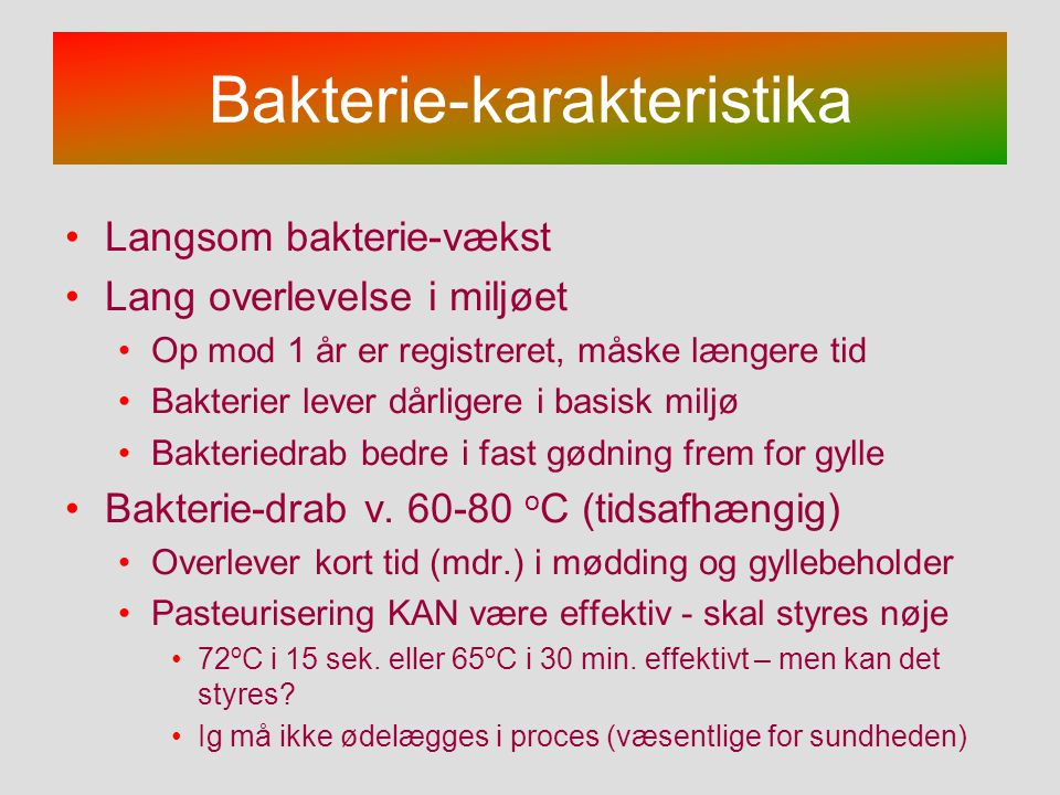 Bakterie-karakteristika