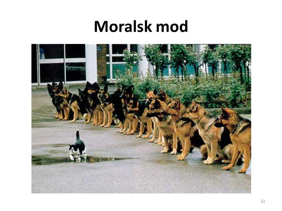 Moralsk mod