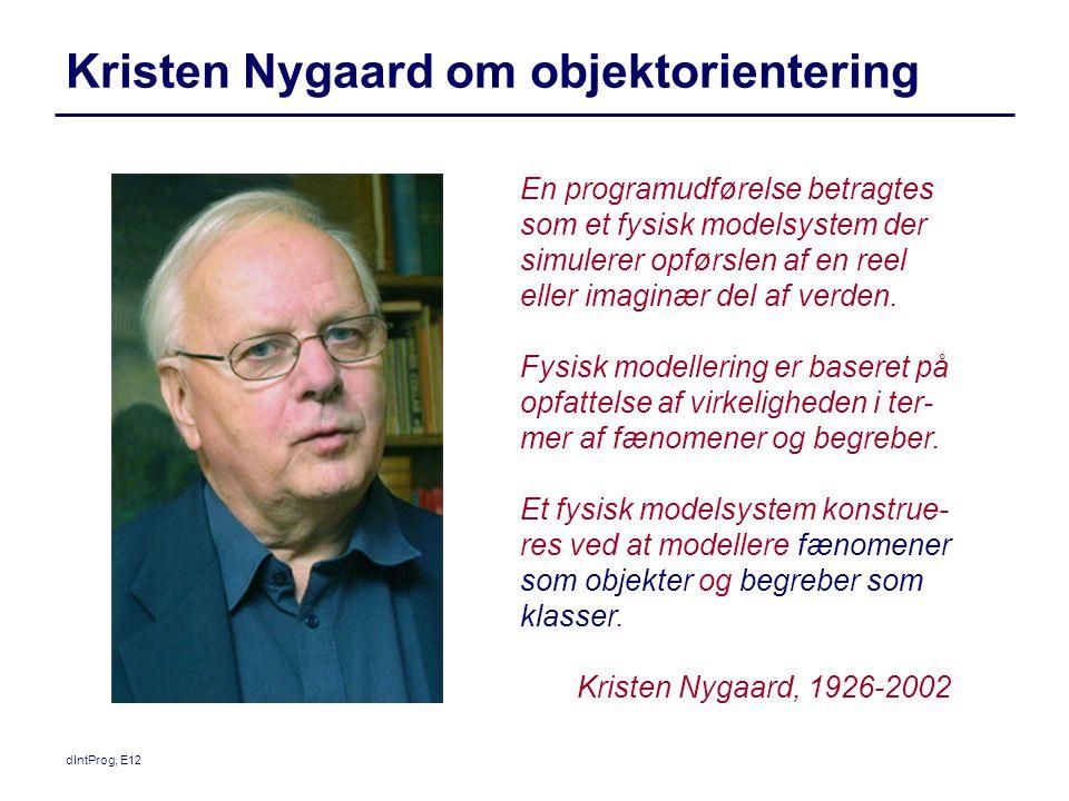 Kristen Nygaard om objektorientering
