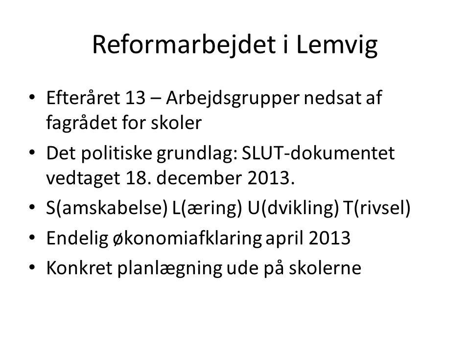 Reformarbejdet i Lemvig