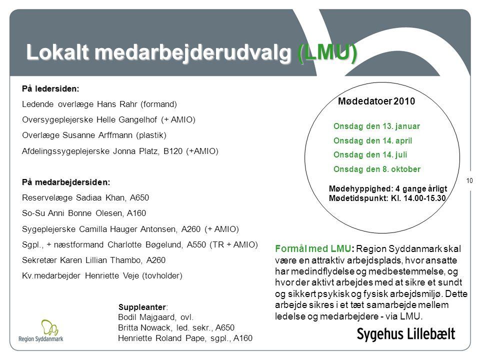 Lokalt medarbejderudvalg (LMU)
