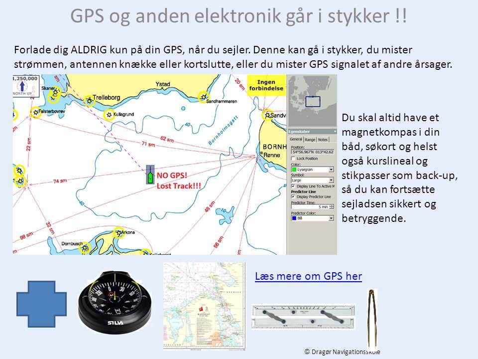 GPS og anden elektronik går i stykker !!