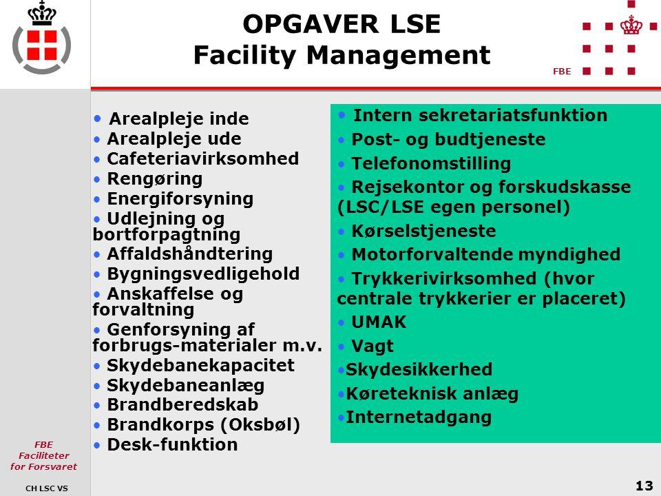 OPGAVER LSE Facility Management