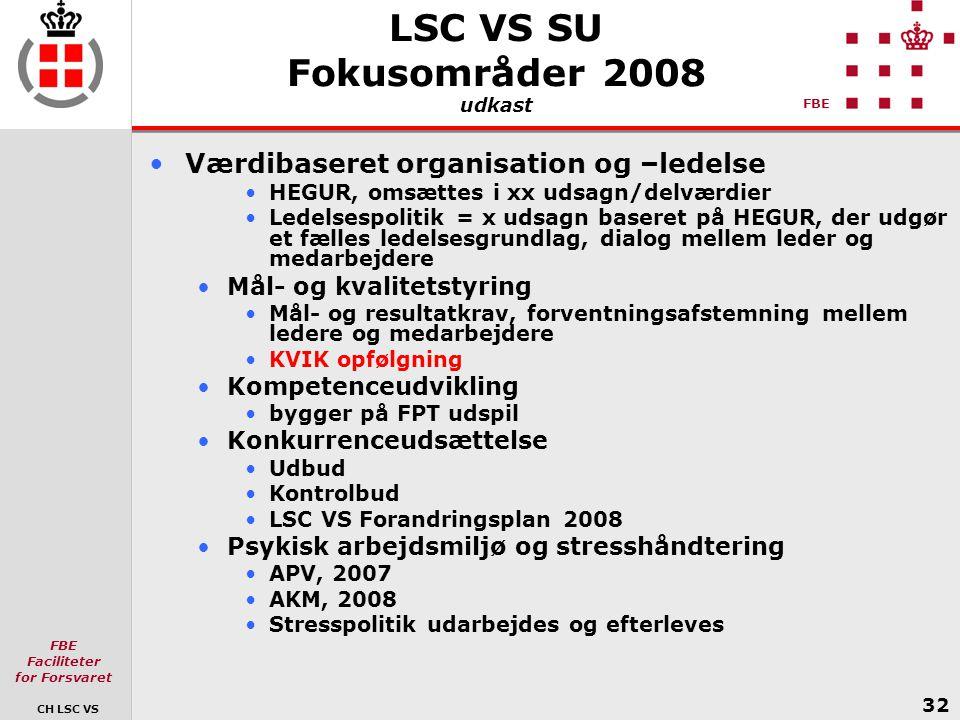 LSC VS SU Fokusområder 2008 udkast