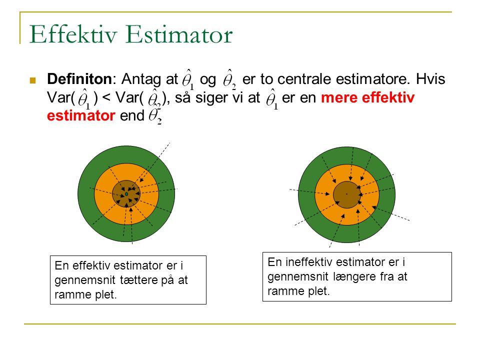 Effektiv Estimator