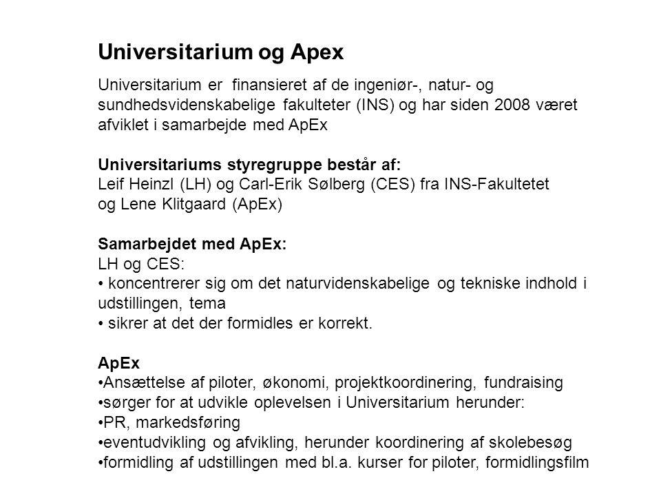 Universitarium og Apex