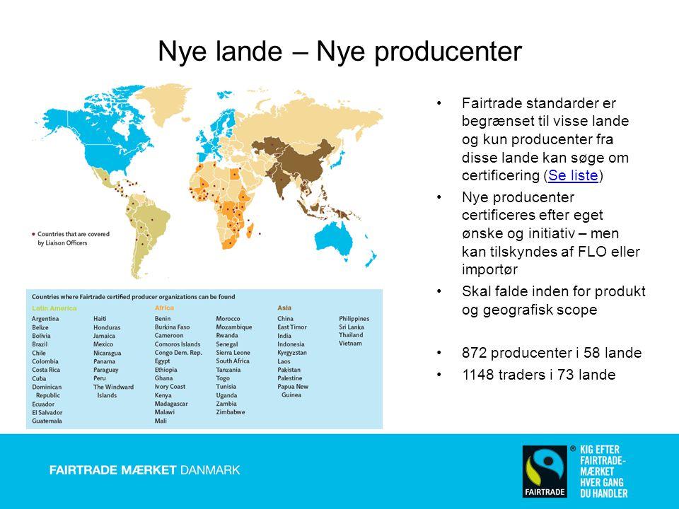 Nye lande – Nye producenter