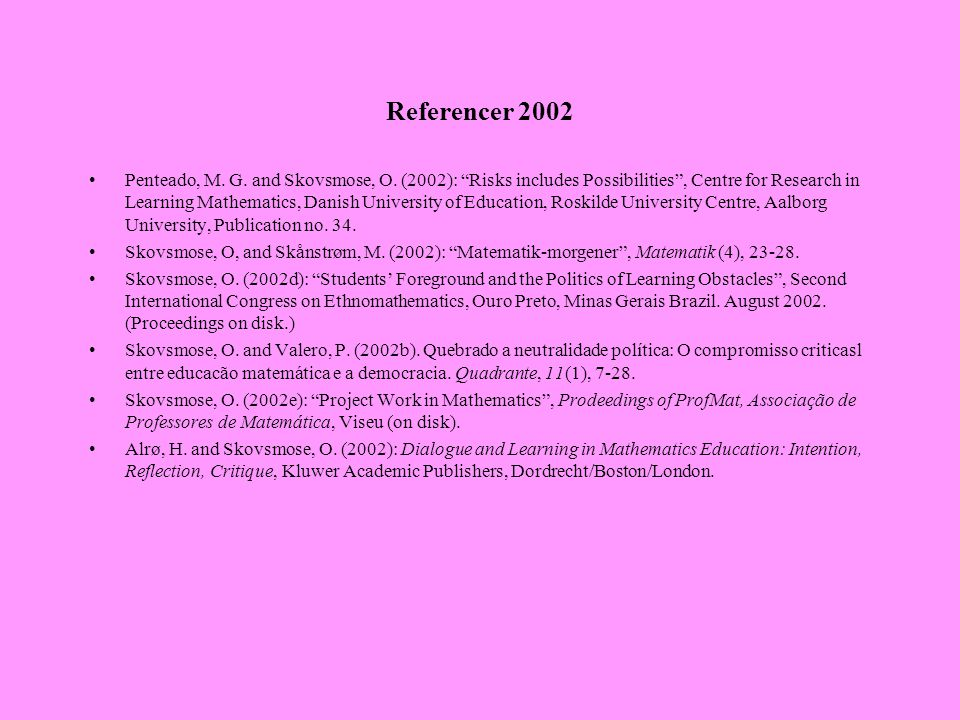 Referencer 2002