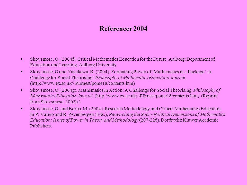 Referencer 2004