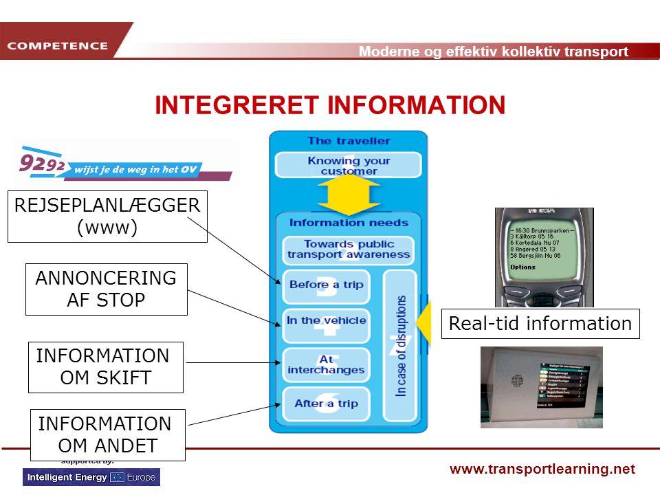 INTEGRERET INFORMATION