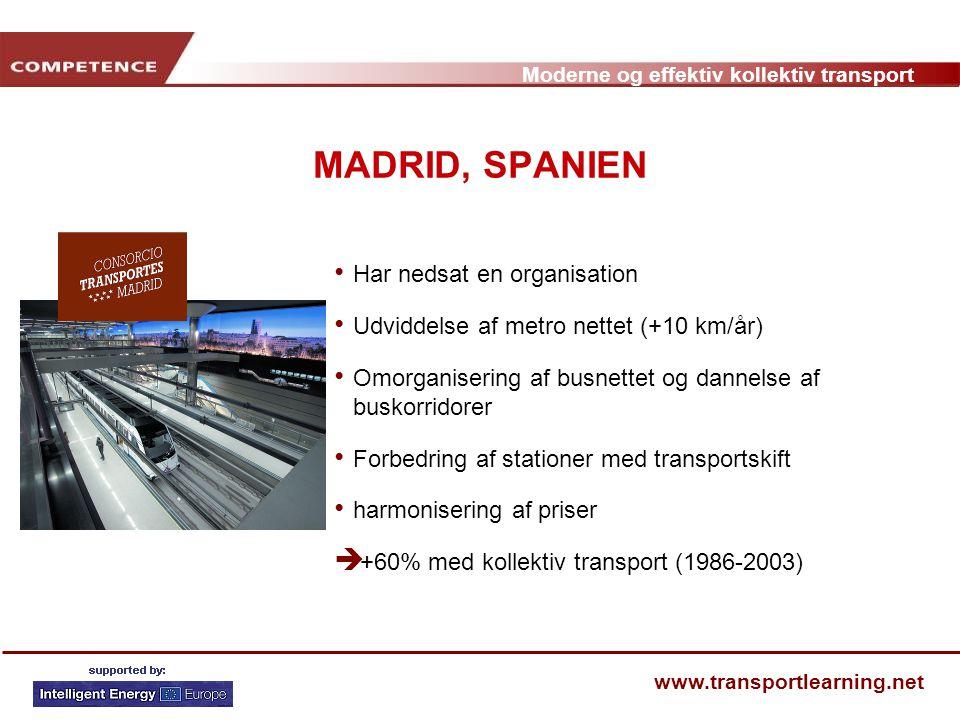 MADRID, SPANIEN Har nedsat en organisation