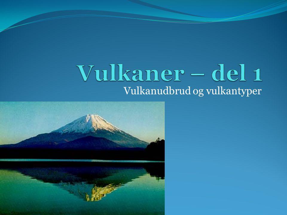 Vulkanudbrud og vulkantyper