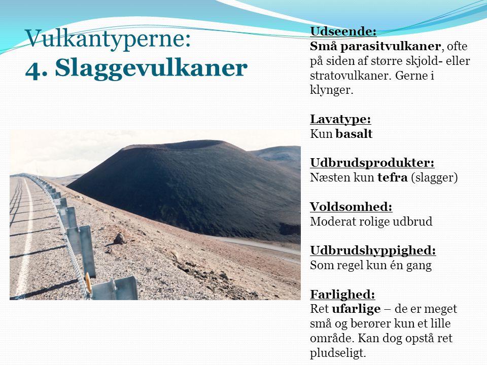 Vulkantyperne: 4. Slaggevulkaner