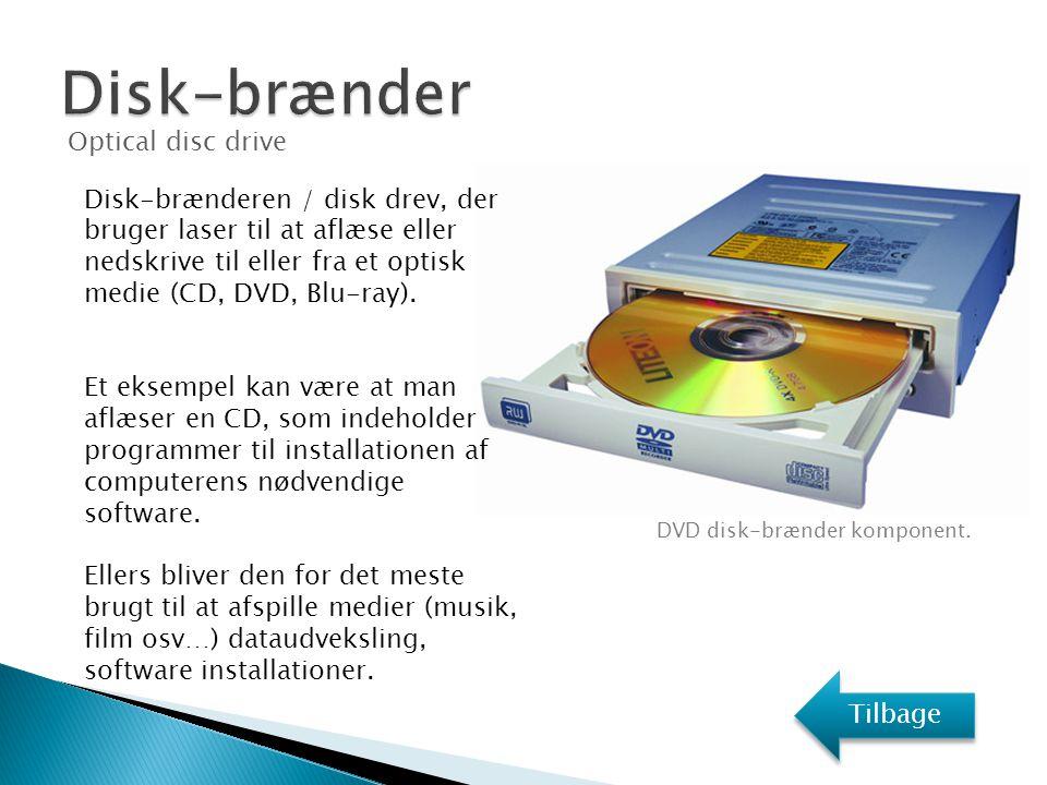 Disk-brænder Optical disc drive