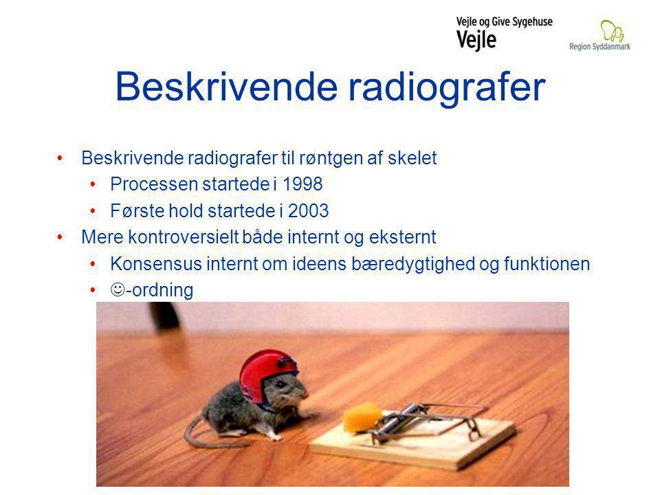 Beskrivende radiografer