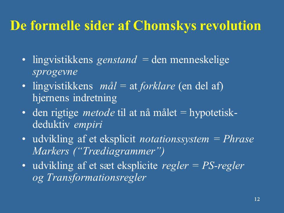 De formelle sider af Chomskys revolution