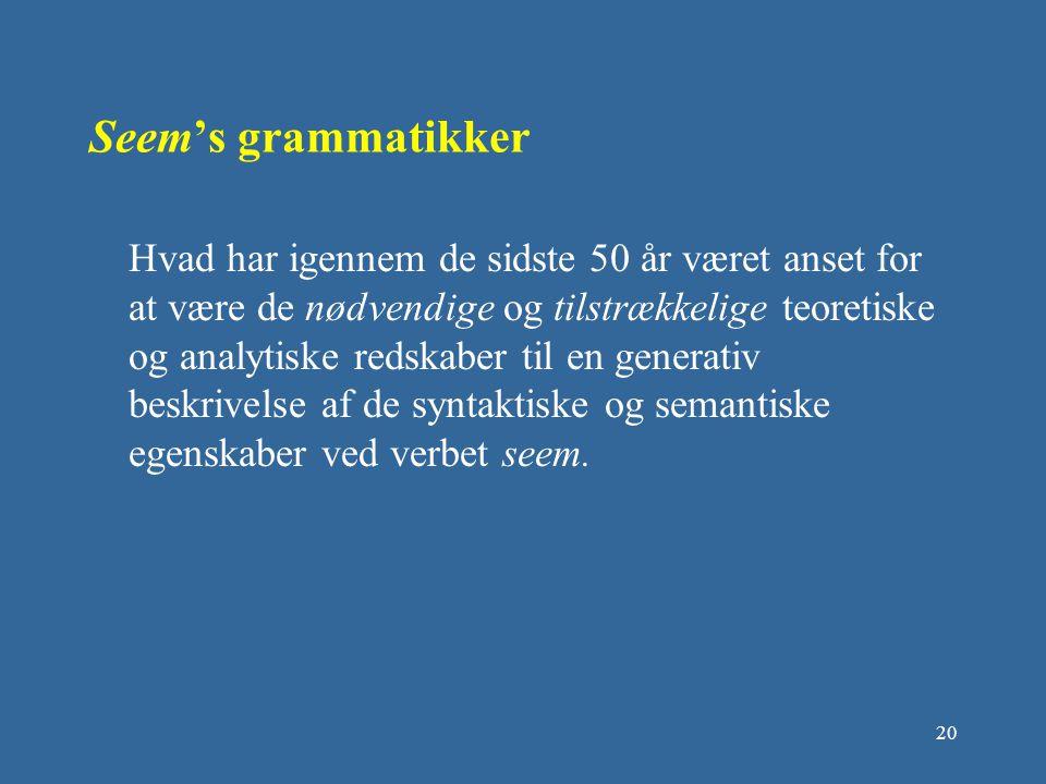Seem's grammatikker