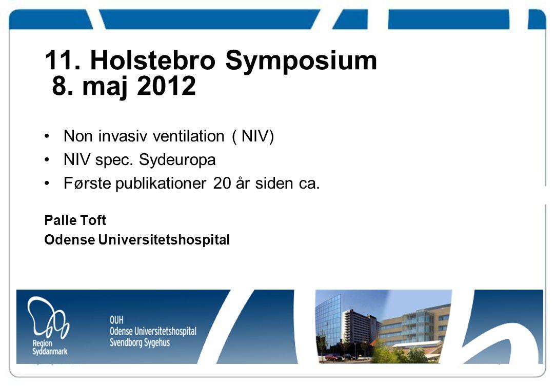 11. Holstebro Symposium 8. maj 2012