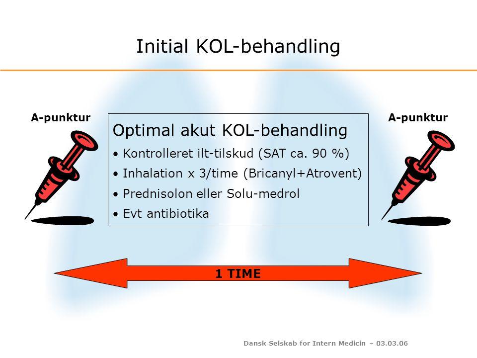 Initial KOL-behandling