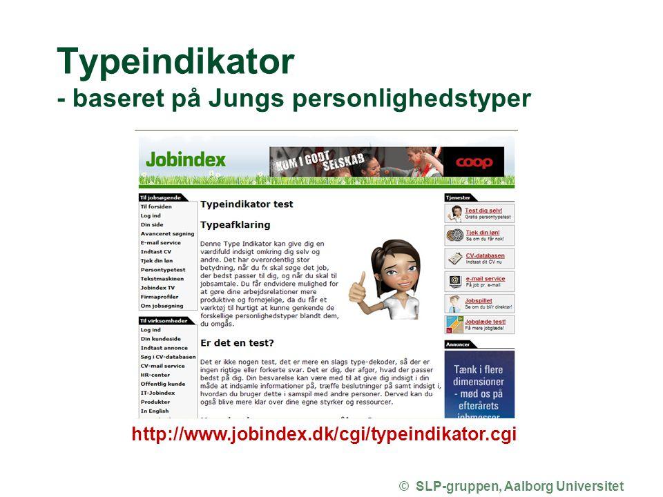 Typeindikator - baseret på Jungs personlighedstyper