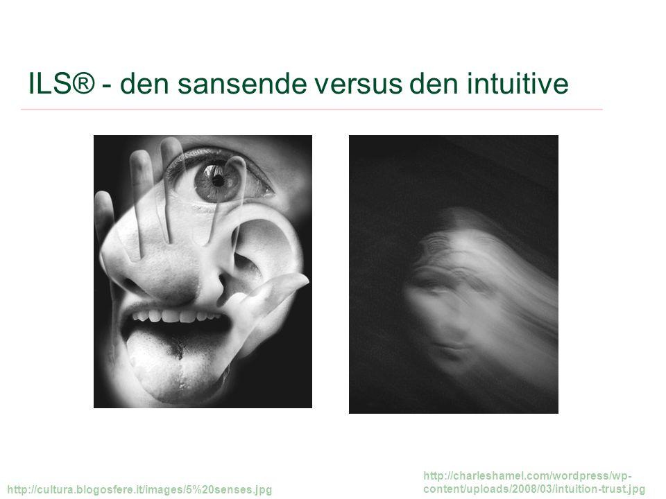 ILS® - den sansende versus den intuitive