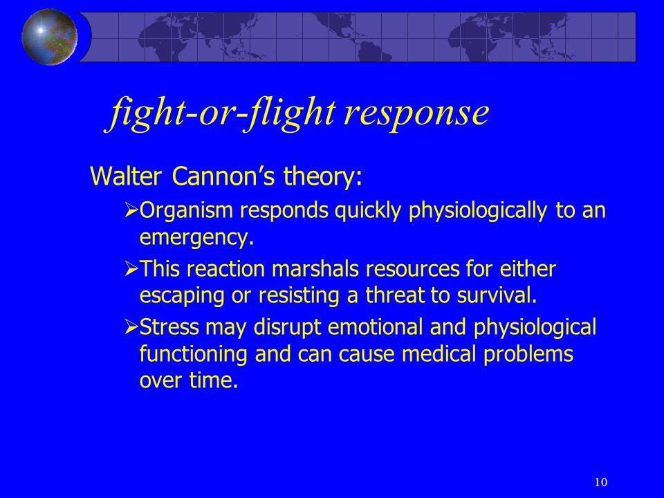 fight-or-flight response