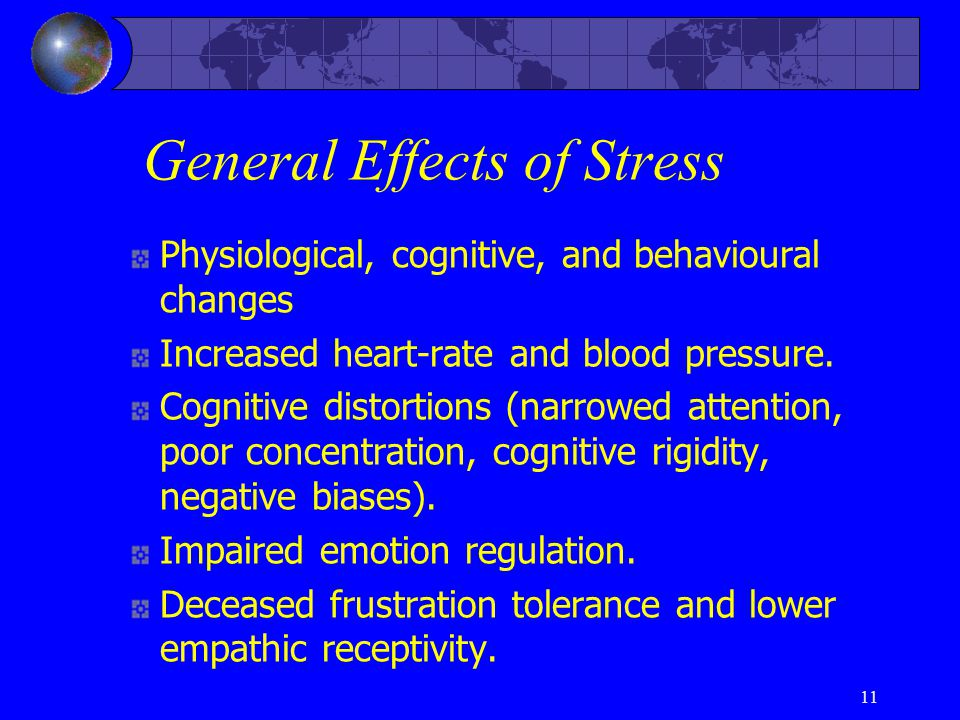 General Effects of Stress