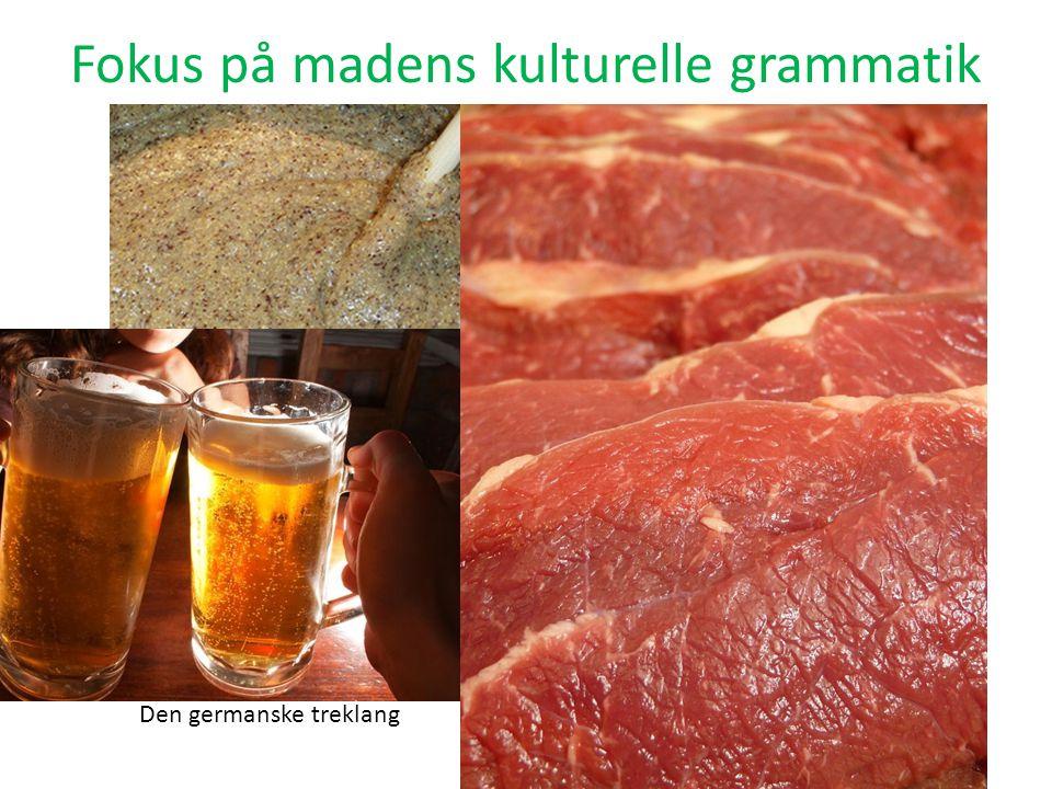 Fokus på madens kulturelle grammatik