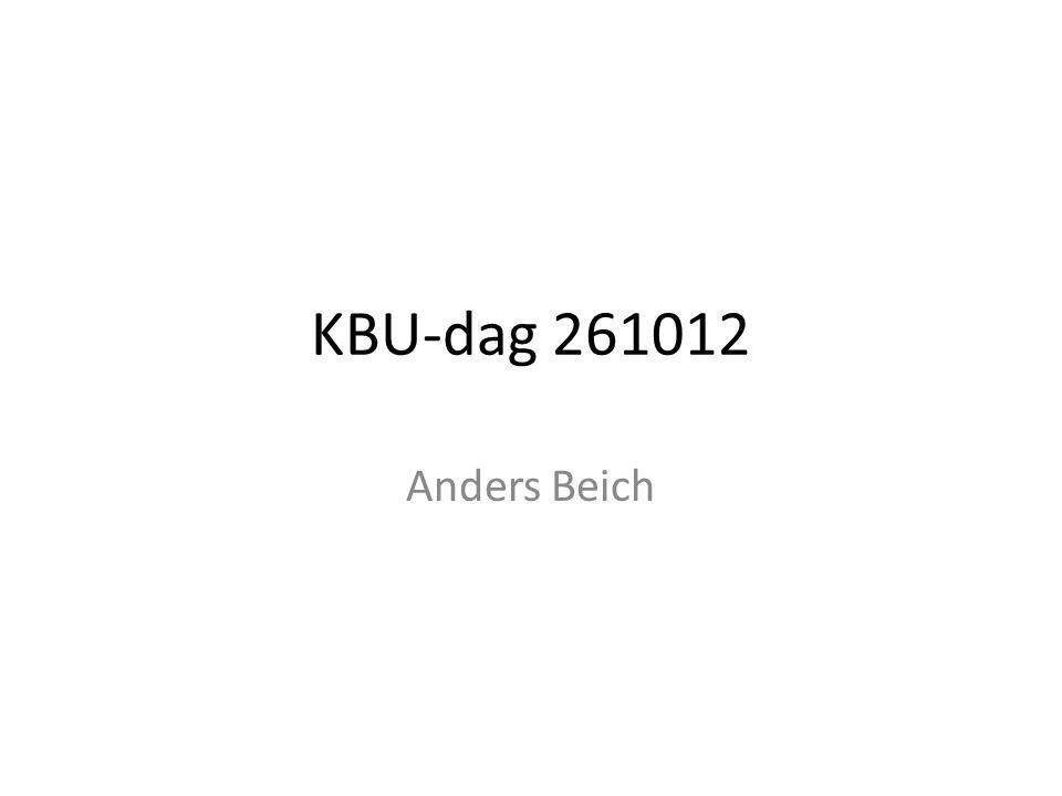 KBU-dag 261012 Anders Beich