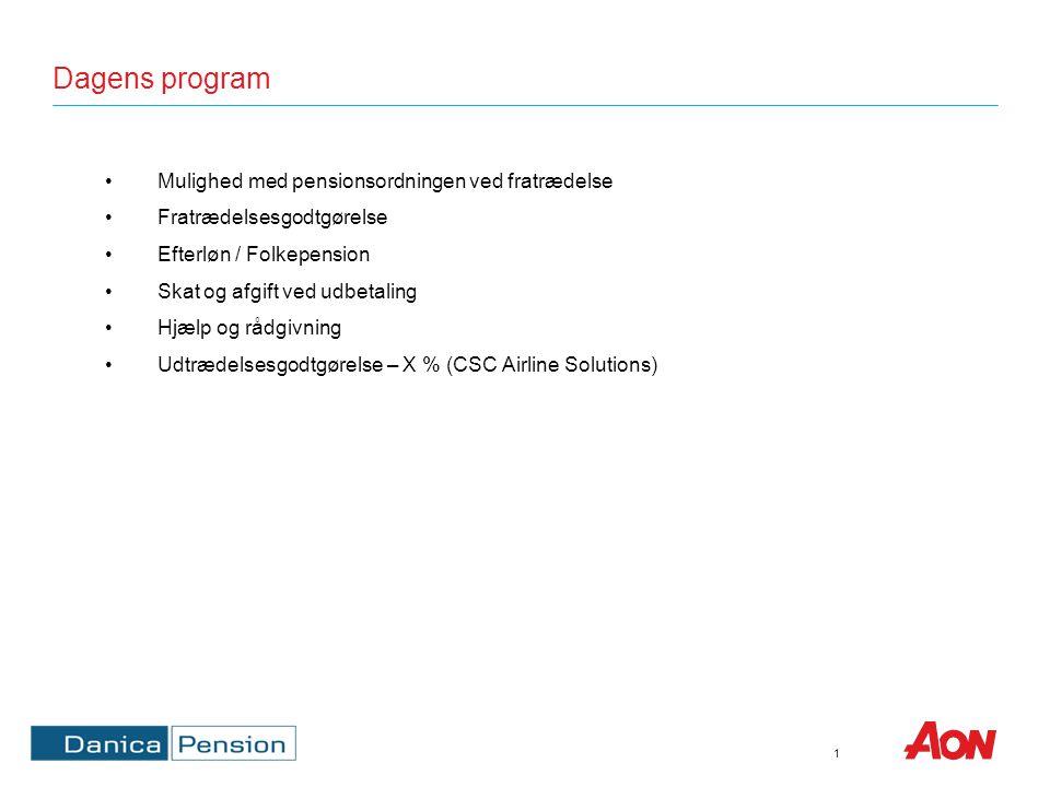 Muligheder i Danica Pension – CSC Danmark